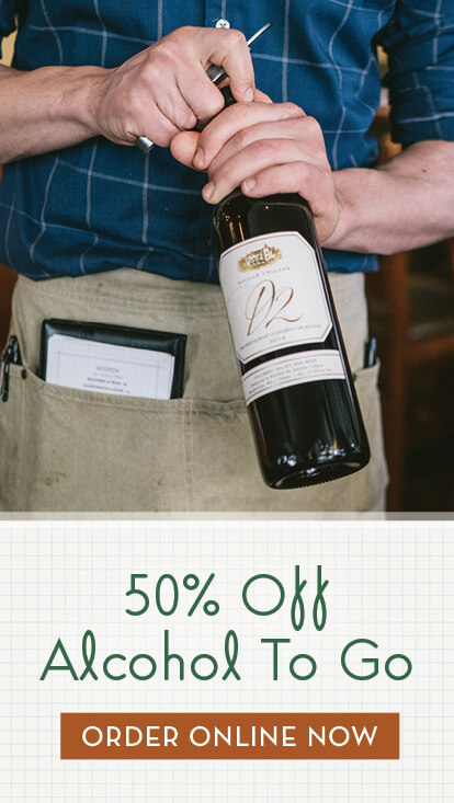 50% Off Beer and Wine To Go